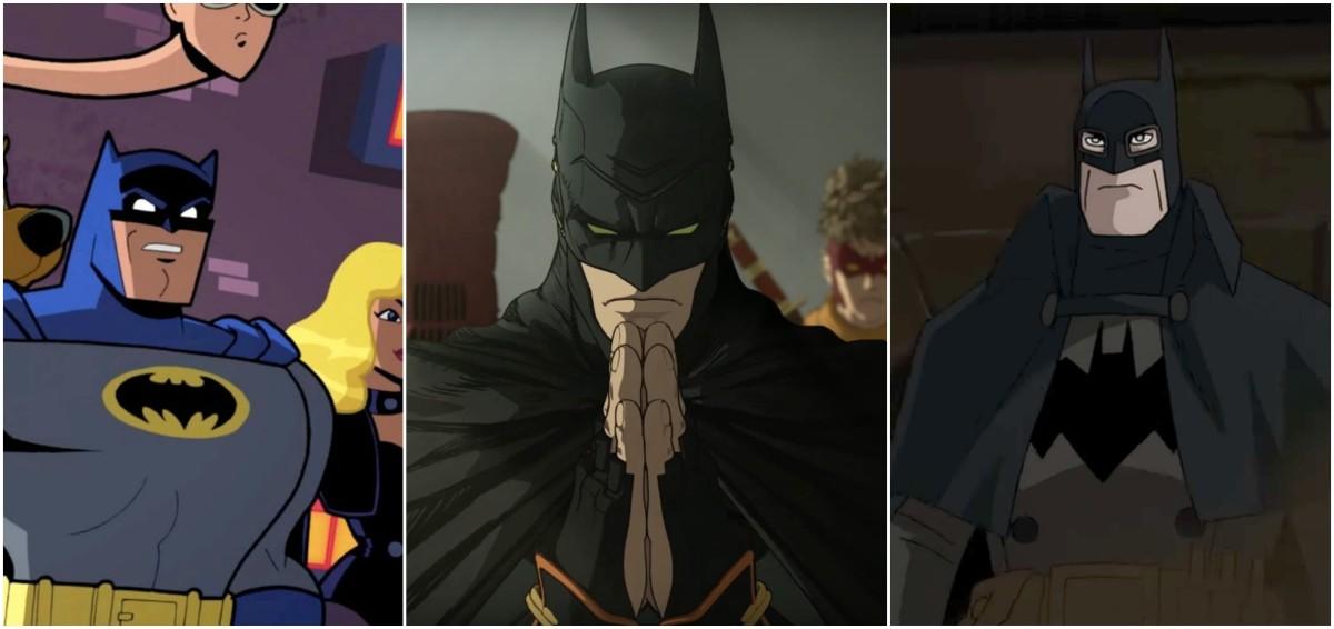 Las tres películas animadas de Batman para este 2018