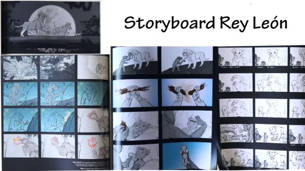 storyboar rey leon